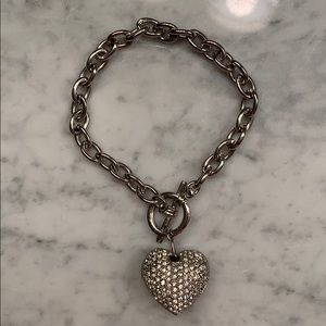 Jewelry - Diamond heart bracelet